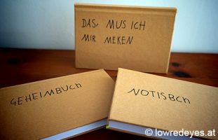 DIY Upcycling Notizbücher