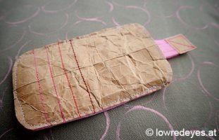 Handhülle aus Tetra Pak selber machen