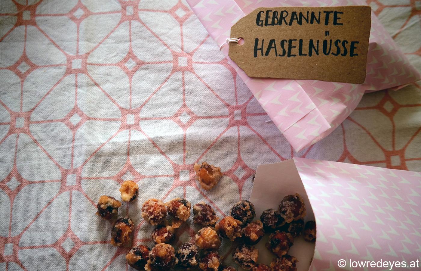 Rezept: gebrannte Haselnüsse selber machen