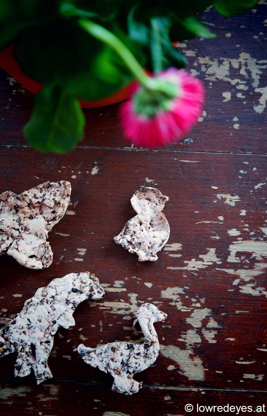 DIY Samenblättchen aus Eierkarton selber machen *Holunderelfe*