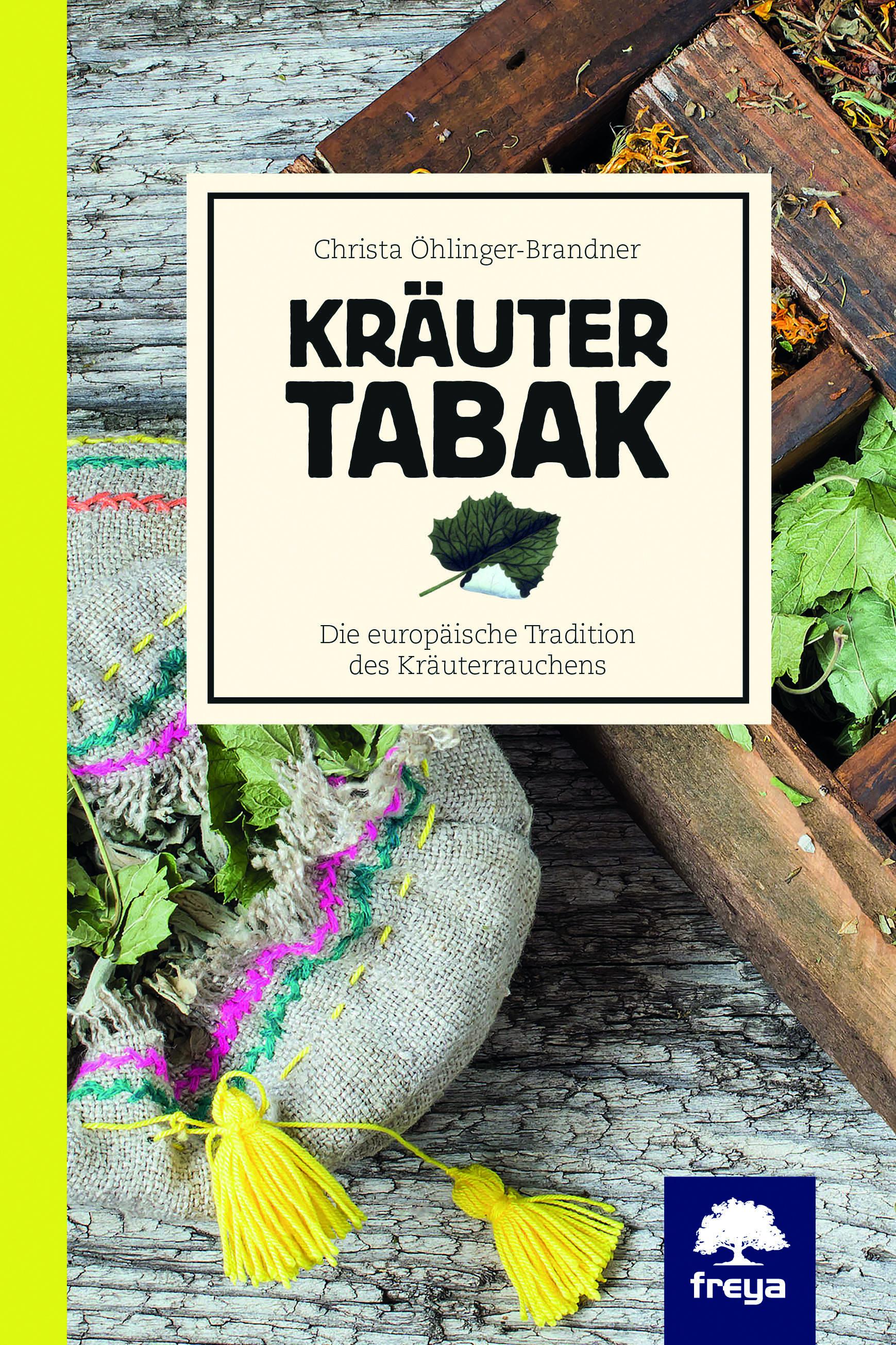 """Booklove """"Kräutertabak"""" mit Ringelblume, Spitzwegerich, Zitronenverbene, Melisse, Pfefferminze und Holunderblüten"""