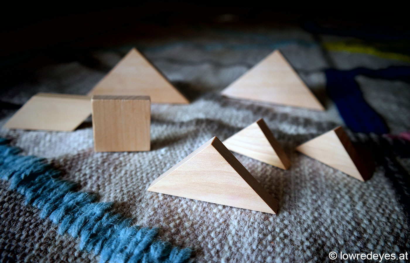 DIY und Upcycling: Magnete aus Tangram-Puzzle selber machen