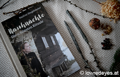 DIY Räucherstäbchen mit Zirbe, Wacholder, Lärchenharz und Fichtennadeln Booklove Rauhnächte, die schönsten Rituale