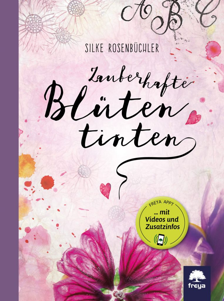 DIY: Blütentinte aus Hibiskusblüten selber machen - Booklove Zauberhafte Blütentinten