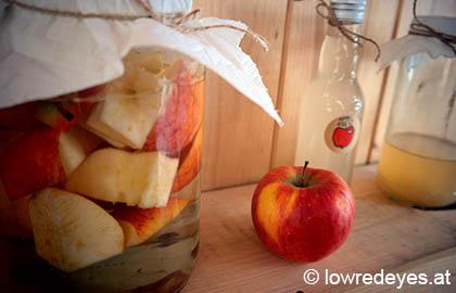 DIY Apfelessig selber machen