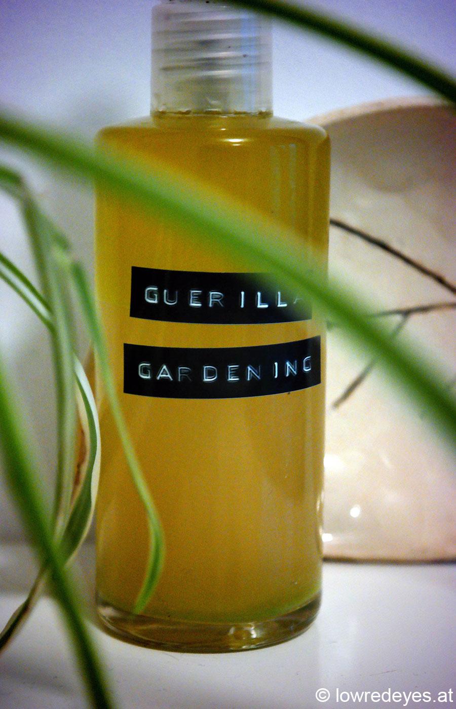 No-Emu Guerilla-Gardening-Lotion, Booklove Vegane Kosmetik