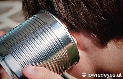 DIY und Upcycling - Dosentelefon