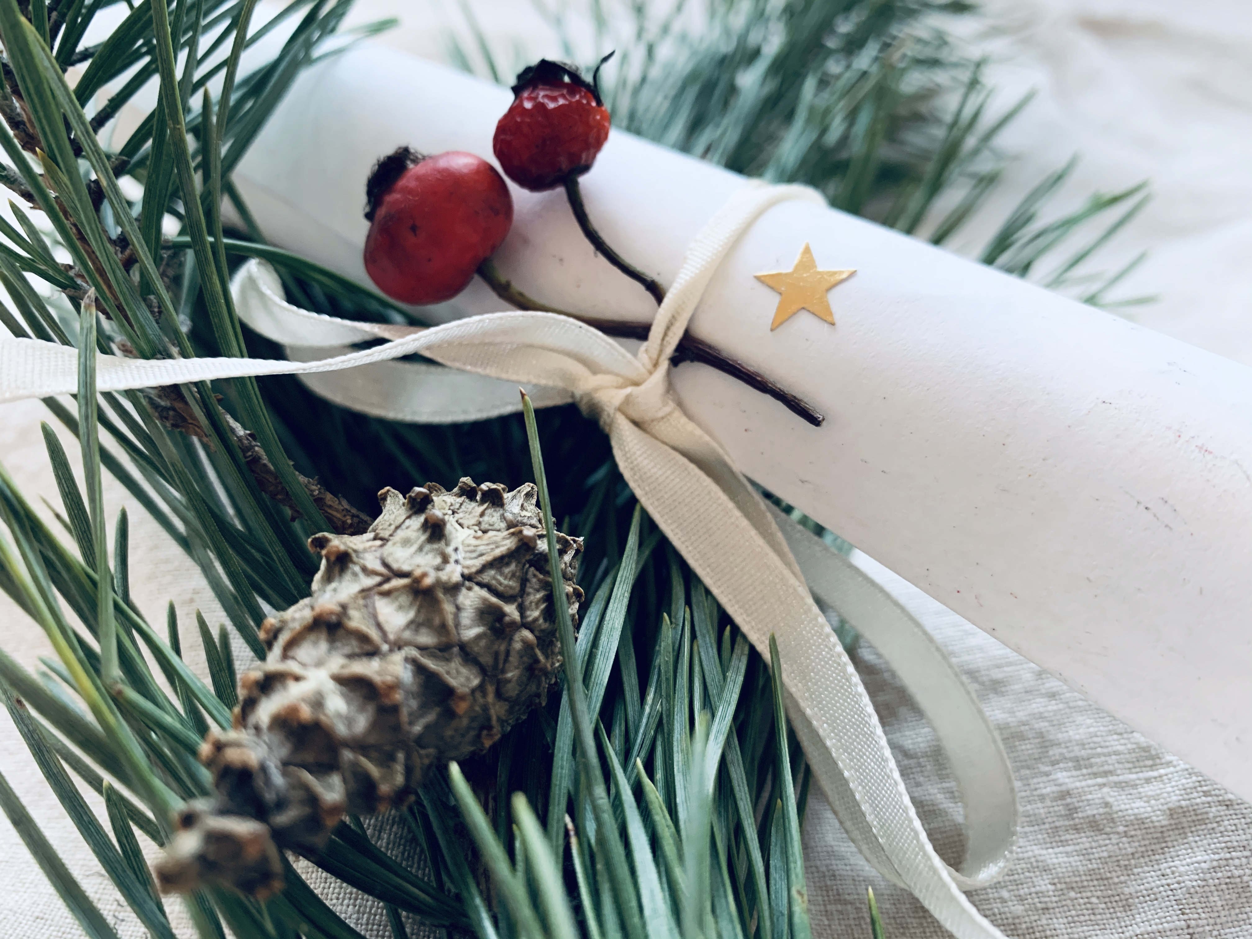Weihnachtspost von Frau Lieblingsbande an das Christkind