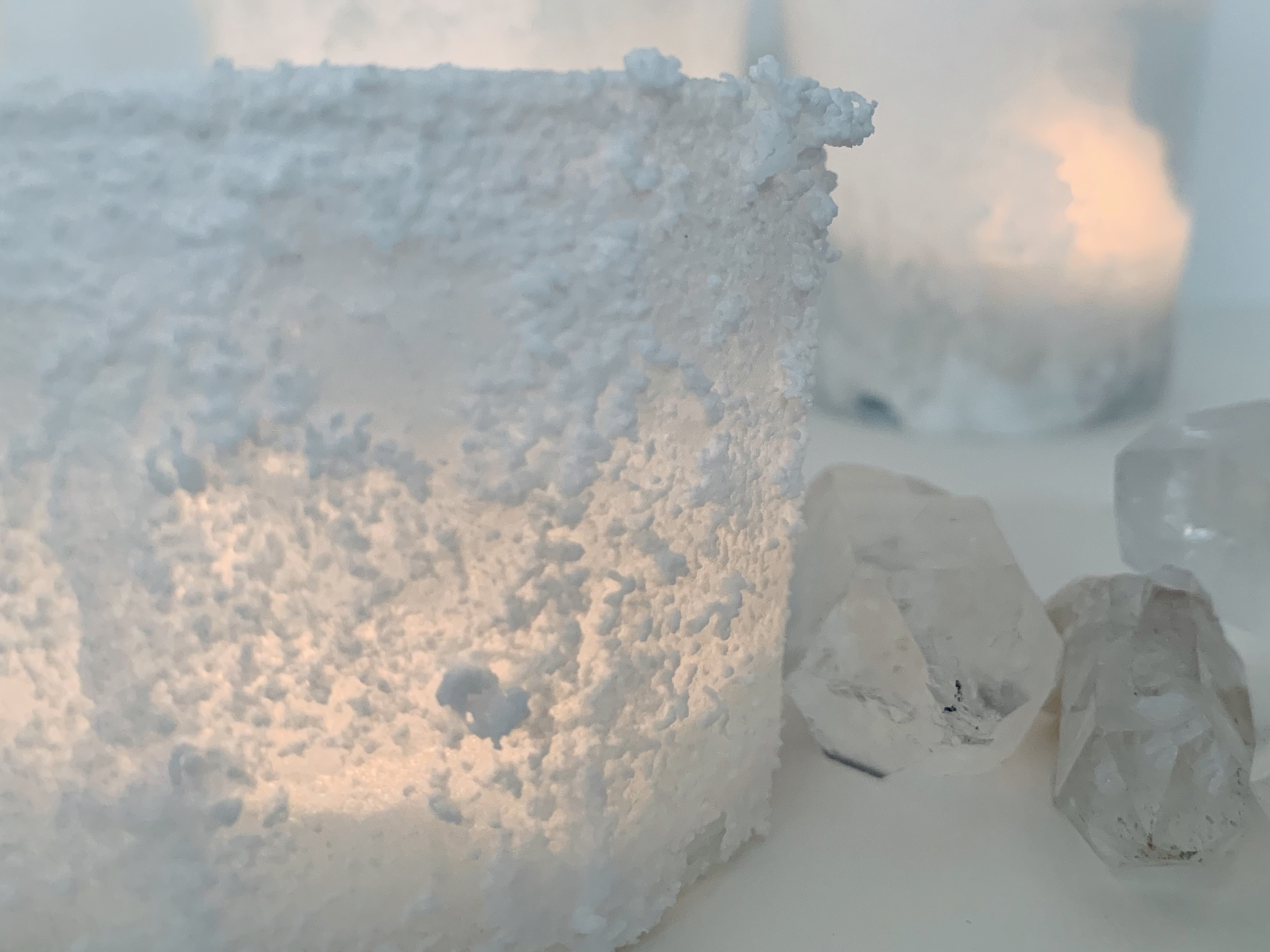 Salzkristalle von Lieblingsbande