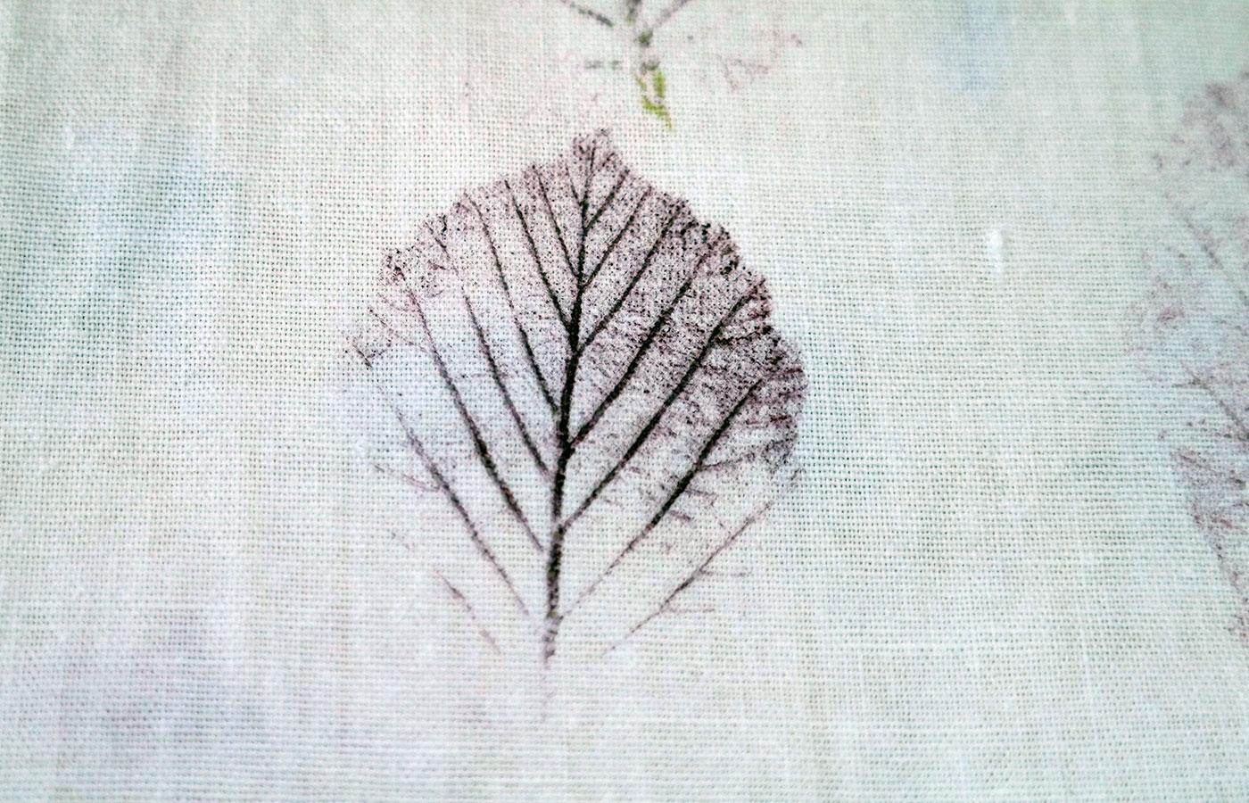 DIY Zirbenkissen & Eco Print |gemeinsame Sache|